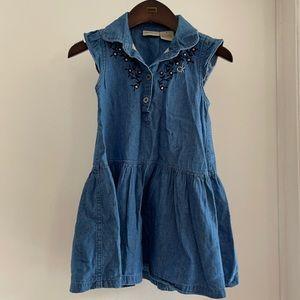 Calvin Klein jean dress for 4T